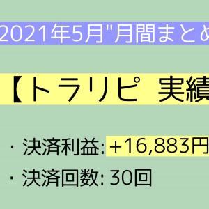 【月間報告】トラリピ 5月運用実績報告【2021年】