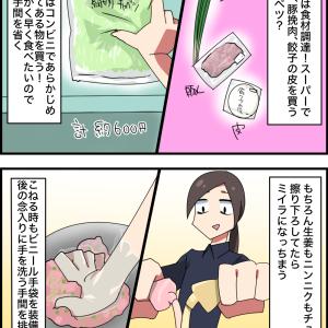無職の手抜き餃子1