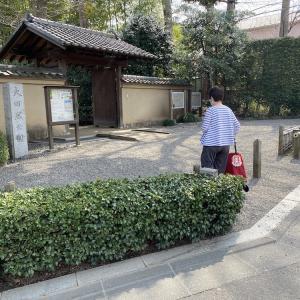 天気が良かったので大田黒公園まで、リハビリを兼ねて散歩しました。