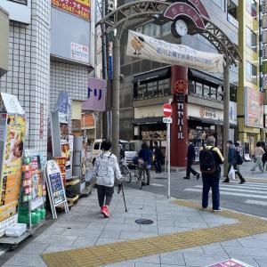 4月8日、リハビリで荻窪駅まで歩いてきました。(脳梗塞になって846日)