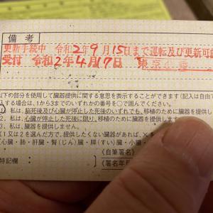「運転免許証の有効期間の延長手続」のため管轄の警察署に行って来ました。