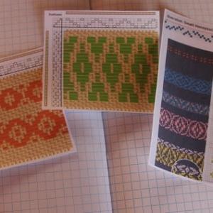 織り方勉強中  アンチエイジングハンドクリーム