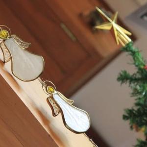 クリスマスツリーです!     糸選びでまずいことに。