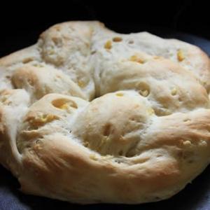 リース型のパン   筋トレだって(笑)