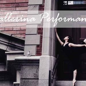 バレリーナの美しさを今風にアレンジしたバレエYouTube動画撮影
