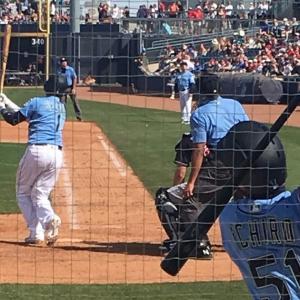 球春到来!MLBでオープン戦がスタートです。