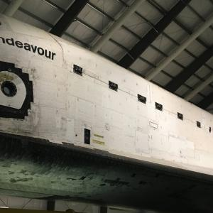 ロサンゼルスでスペースシャトルの見学(サイエンスセンター)