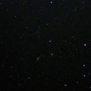 「系外銀河M65・M66・NGC3628」の撮影 2020年1月2日(機材:コ・ボーグ36ED、スリムフラットナー1.1×DG、E-PL5、ポラリエ)