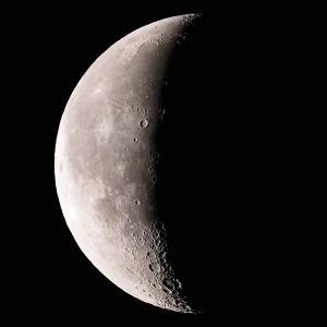 「月」の撮影 2020年1月19日(機材:ミニボーグ50FL、E-PL5、ポラリエ)
