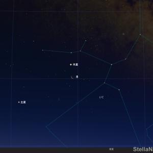 ★ 2020年2月20日(木)の明け方 月と木星の接近している光景 必見! ★