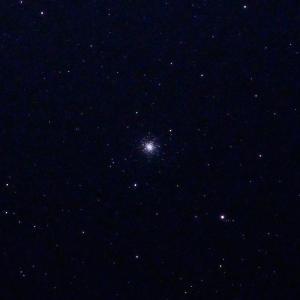 「球状星団M3」の撮影 2020年1月22日(機材:コ・ボーグ36ED、スリムフラットナー1.1×DG、E-PL5、ポラリエ)