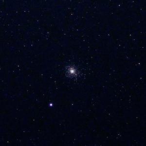 「球状星団M5」の撮影 2020年2月2日(機材:コ・ボーグ36ED、スリムフラットナー1.1×DG、E-PL5、ポラリエ)