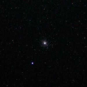 「球状星団M5」の撮影 2020年3月6日(機材:コ・ボーグ36ED、スリムフラットナー1.1×DG、E-PL5、ポラリエ)