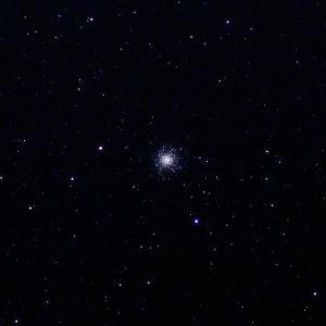 「球状星団M13」の撮影 2020年3月6日(機材:コ・ボーグ36ED、スリムフラットナー1.1×DG、E-PL5、ポラリエ)