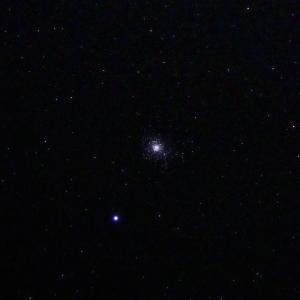 「球状星団M5」の撮影 2020年3月21日(機材:コ・ボーグ36ED、スリムフラットナー1.1×DG、E-PL5、ポラリエ)