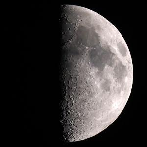 「月」の撮影 2020年5月30日(機材:ミニボーグ50FL、E-PL5、ポラリエ)