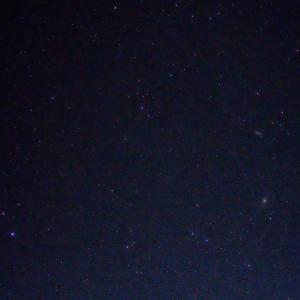 「C/2017T2 パンスターズ彗星 と M81・M82」の撮影 2020年5月24日(機材:コ・ボーグ36ED、スリムフラットナー1.1×DG、E-PL5、ポラリエ)
