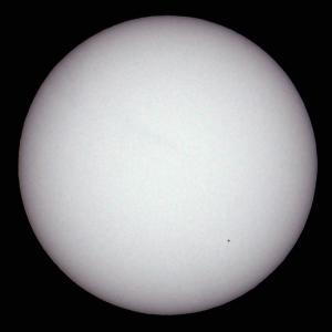 「太陽(白色光)」の撮影 2020年6月12日(機材:ミニボーグ50FL、E-PL5、ポラリエ)