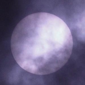 「部分日食」の撮影 その1 2020年6月21日(機材:コ・ボーグ36ED、スリムフラットナー1.1×DG、E-PL5、ポラリエ)