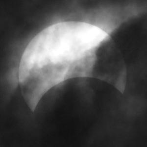「部分日食」の撮影 その3 2020年6月21日(機材:コ・ボーグ36ED、スリムフラットナー1.1×DG、E-PL5、ポラリエ)