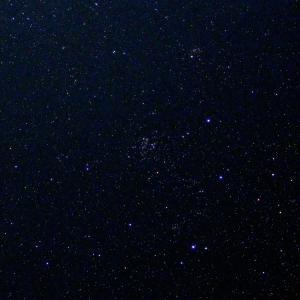 「散開星団NGC663」の撮影 2020年6月29日(機材:コ・ボーグ36ED、スリムフラットナー1.1×DG、E-PL5、ポラリエ)