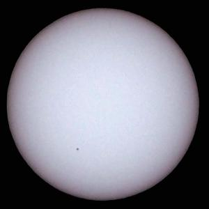「太陽(白色光)」の撮影 2020年6月21日(機材:コ・ボーグ36ED、スリムフラットナー1.1×DG、E-PL5、ポラリエ)