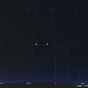 「ガリレオ衛星のイオ と ガニメデ が接近!」2020年8月7日 21:25頃!