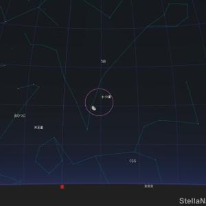 「火星と月が接近!」2020年8月9日(夜遅く~)です!