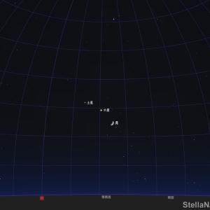 「木星と月が接近!」2020年10月22日です!
