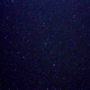 「C/2020 M3 アトラス彗星」の撮影 2020年10月25日(機材:コ・ボーグ36ED、スリムフラットナー1.1×DG、E-PL5、ポラリエ)
