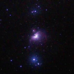 「オリオン大星雲M42」の撮影 2020年9月17日(機材:コ・ボーグ36ED、スリムフラットナー1.1×DG、E-PL5、ポラリエ)