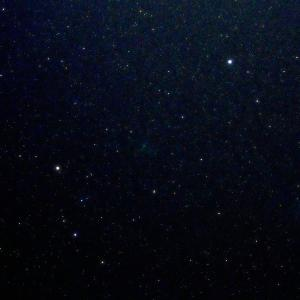 「C/2020 M3 アトラス彗星」の撮影 2020年11月5日(機材:コ・ボーグ36ED、スリムフラットナー1.1×DG、E-PL5、ポラリエ)