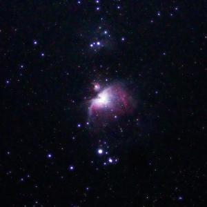 「オリオン大星雲M42」の撮影 2020年10月13日(機材:コ・ボーグ36ED、スリムフラットナー1.1×DG、E-PL5、ポラリエ)
