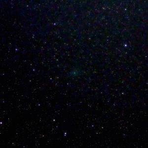 「C/2020 M3 アトラス彗星」の撮影 2020年11月15日(機材:コ・ボーグ36ED、スリムフラットナー1.1×DG、E-PL5、ポラリエ)