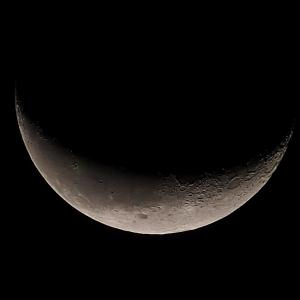 「月」の撮影 2020年10月13日(機材:コ・ボーグ36ED、スリムフラットナー1.1×DG、E-PL5、ポラリエ)