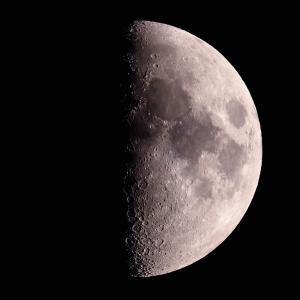 「月」の撮影 2021年1月21日(機材:ミニボーグ50FL、E-PL5、ポラリエ)