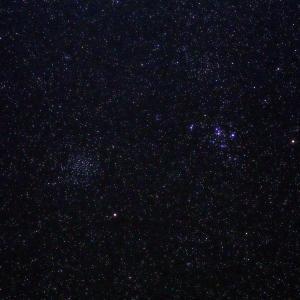 「散開星団M46・M47」の撮影 2020年11月15日(機材:コ・ボーグ36ED、スリムフラットナー1.1×DG、E-PL5、ポラリエ)