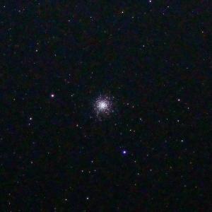 「球状星団M13」の撮影 2021年3月24日(機材:コ・ボーグ36ED、スリムフラットナー1.1×DG、E-PL5、ポラリエ)