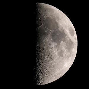 「月」の撮影 2021年7月17日(機材:ミニボーグ50FL、E-PL5、ポラリエ)