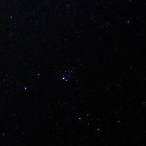 「散開星団NGC457」の撮影 2021年6月9日(機材:コ・ボーグ36ED、スリムフラットナー1.1×DG、E-PL5、ポラリエ)