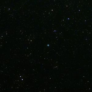 「リング星雲M57」の撮影 2021年6月18日(機材:コ・ボーグ36ED、スリムフラットナー1.1×DG、E-PL5、ポラリエ)