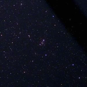 「散開星団M103」の撮影 2021年6月18日(機材:コ・ボーグ36ED、スリムフラットナー1.1×DG、E-PL5、ポラリエ)