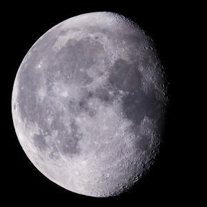 「月」の撮影 2021年7月28日(機材:ミニボーグ50FL、E-PL5、ポラリエ)
