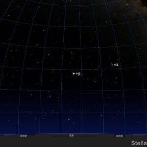 「木星にイオ(ガリレオ衛星)の影」2021年9月1日 20:15~22:25頃 見えるかも!
