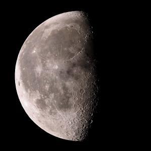 「月」の撮影 2021年8月29日(機材:ミニボーグ50FL、E-PL5、ポラリエ)