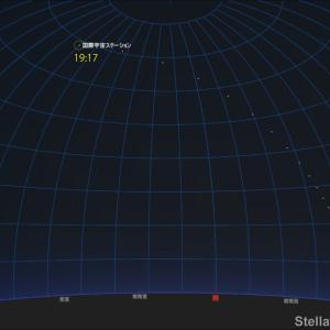 「国際宇宙ステーションISS・きぼう」が明日(2021年9月15日)、見頃となります!