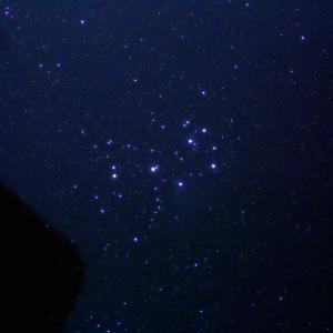 「プレアデス星団M45」の撮影 2021年8月4日(機材:コ・ボーグ36ED、スリムフラットナー1.1×DG、E-PL5、ポラリエ)