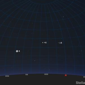 「木星にガニメデ(ガリレオ衛星)の影」2021年9月20日 20:00~23:10頃 見えるかも?!