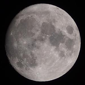 「月」の撮影 2021年9月19日(機材:コ・ボーグ36ED、スリムフラットナー1.1×DG、E-PL5、ポラリエ)