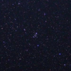 「散開星団M103」の撮影 2021年8月4日(機材:コ・ボーグ36ED、スリムフラットナー1.1×DG、E-PL5、ポラリエ)